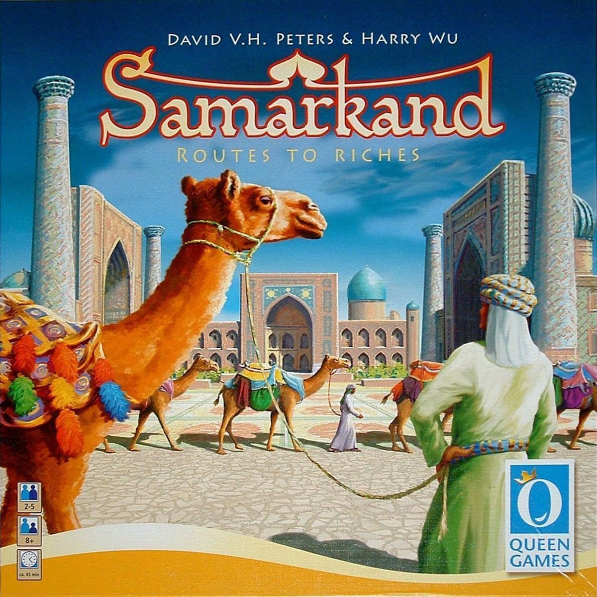 Main image for Samarkand: Routes to Riches
