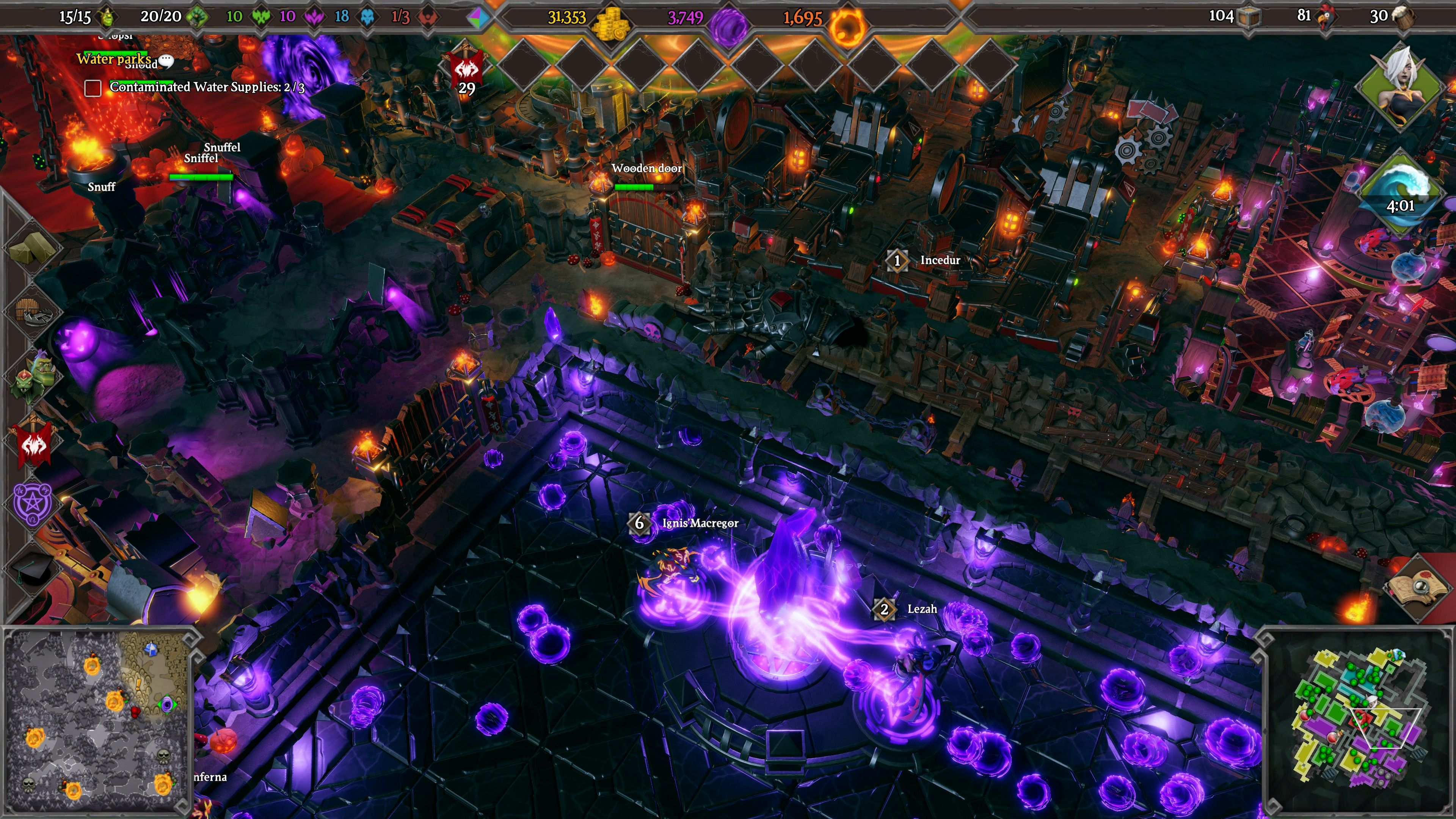 Video Game: Dungeons 3