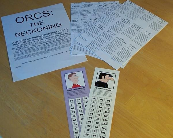 Knights of the Dinner Table: Orcs – The Reckoning