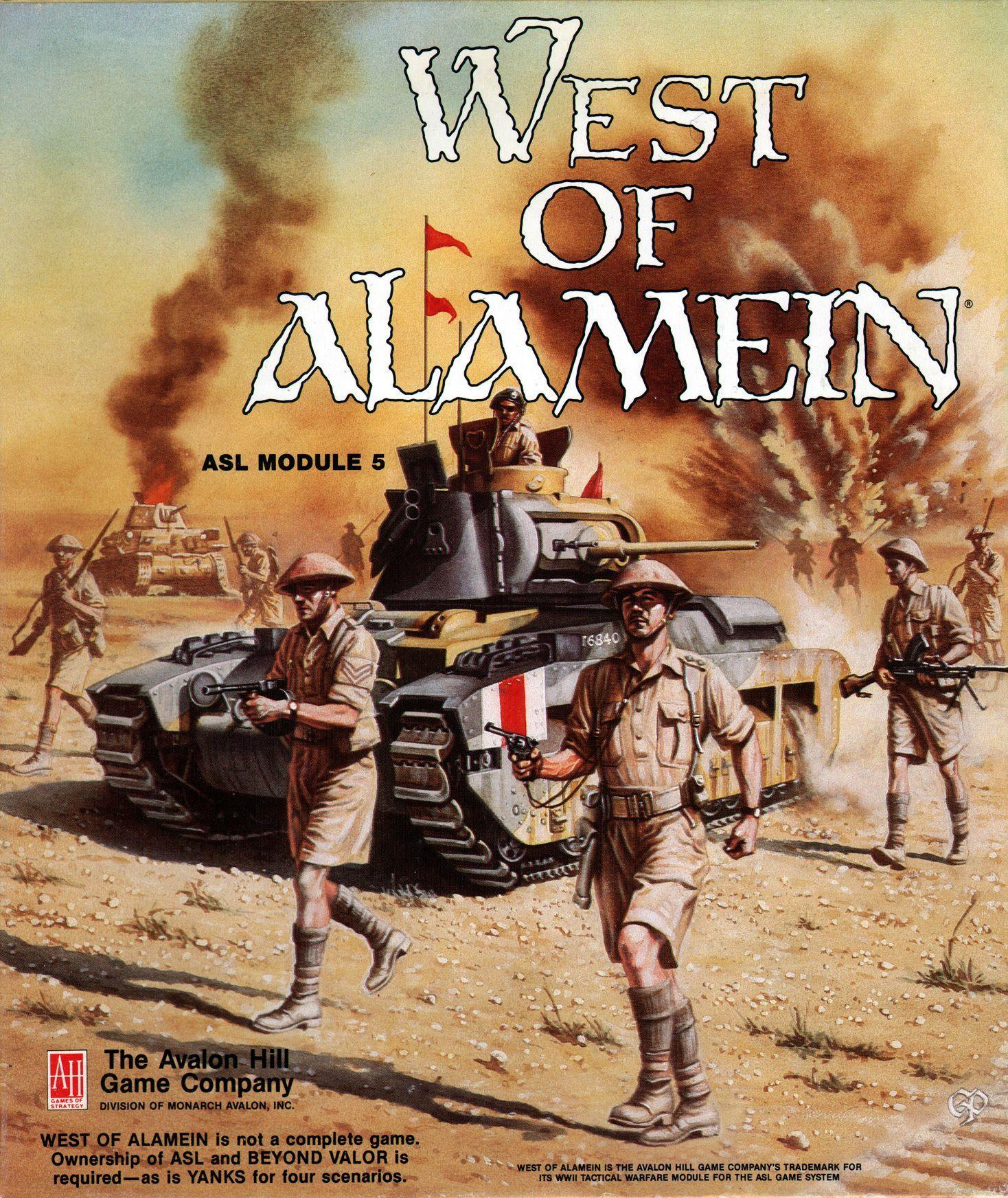 West of Alamein: ASL Module 5