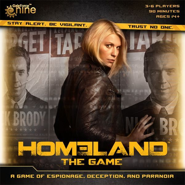 Main image for Homeland: The Game