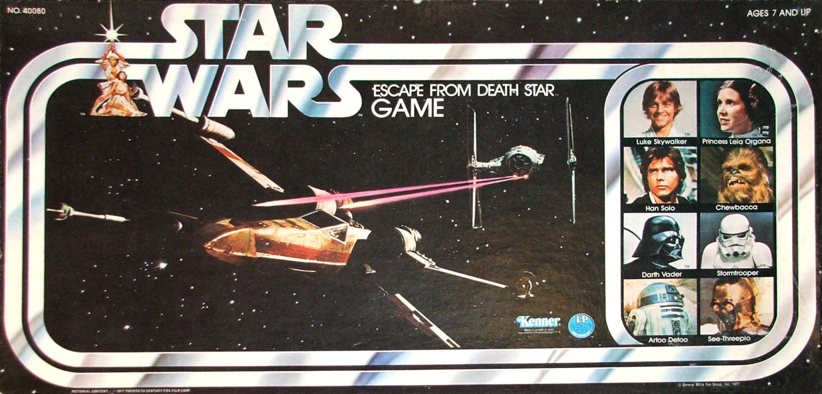 Star Wars:  Escape From Death Star Game