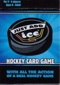 Just Add Ice Hockey Card Game
