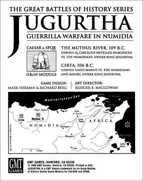 Jugurtha: Caesar and SPQR Module