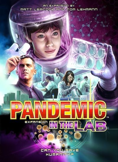 Pandemic: In the Lab Cover