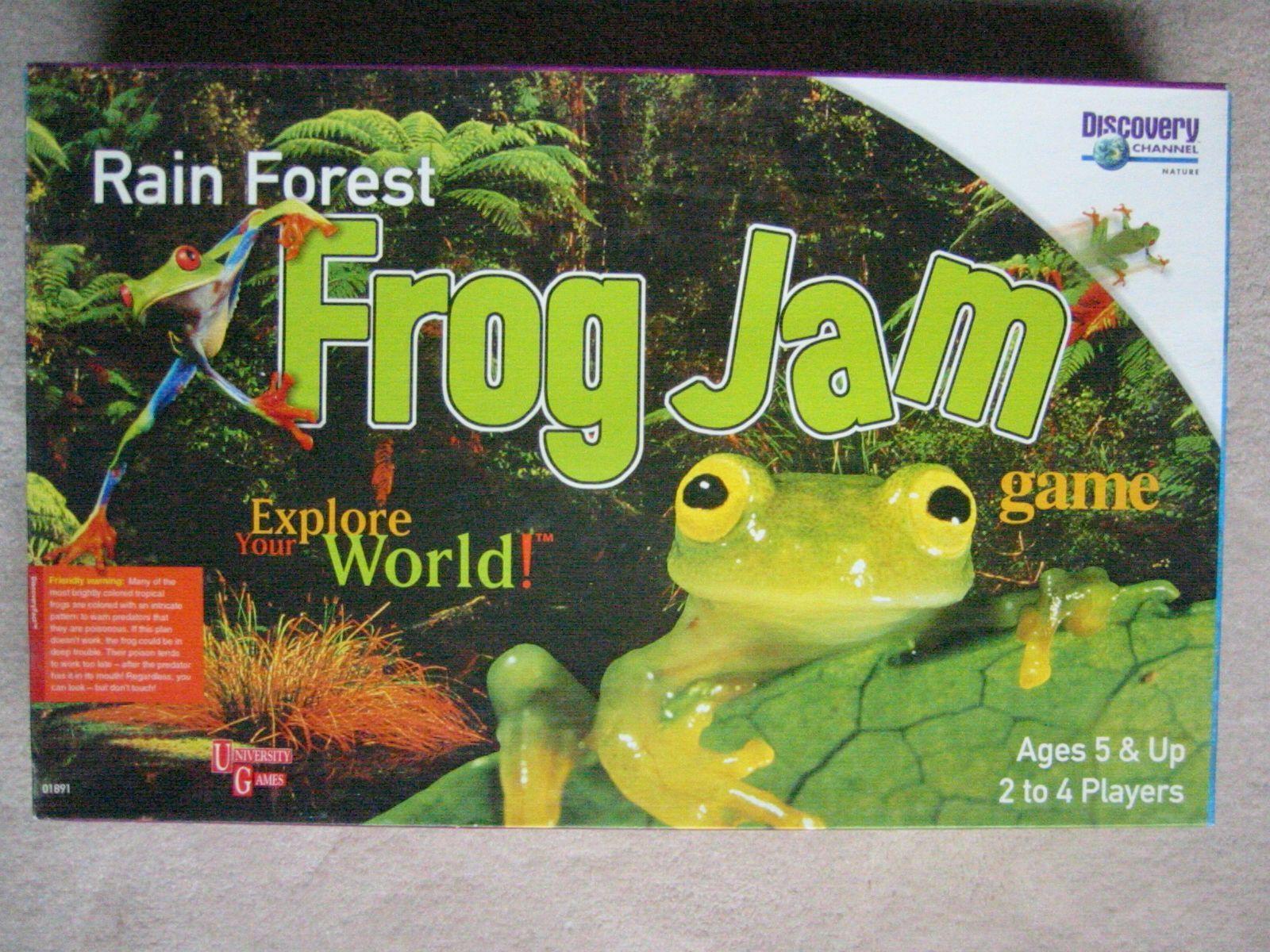 Rain Forest Frog Jam Game