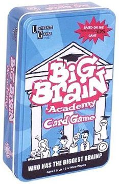 Big Brain Academy Cardgame