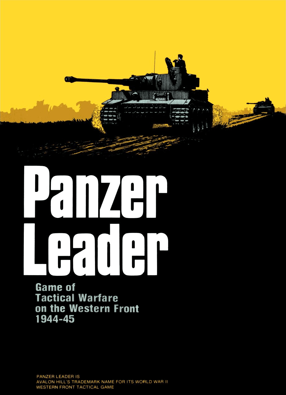Panzer Leader: Game of Tactical Warfare on the Western Front 1944-45
