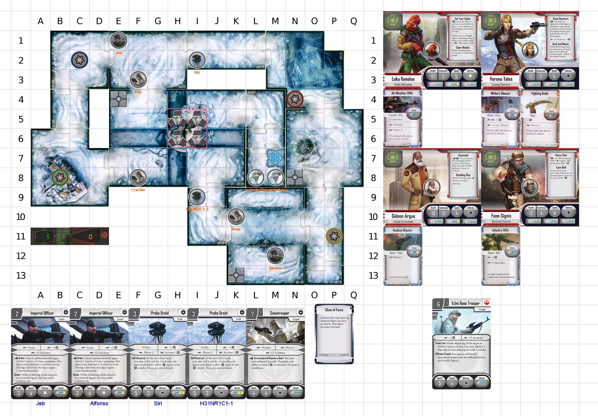 Closed PBF Campaign: Star Wars Imperial Assault Return to Hoth