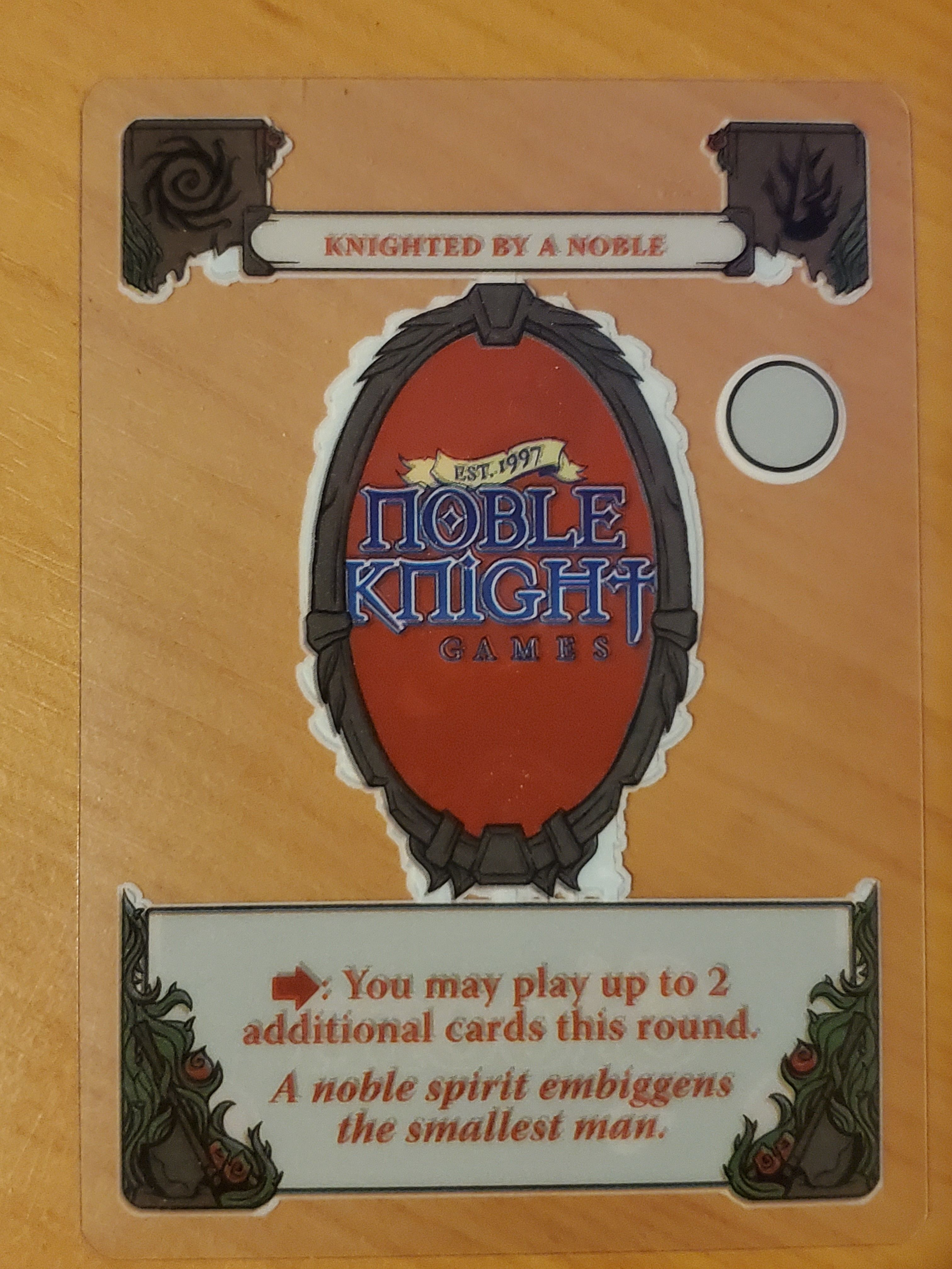 Gloom: Knighted by a Noble Promo
