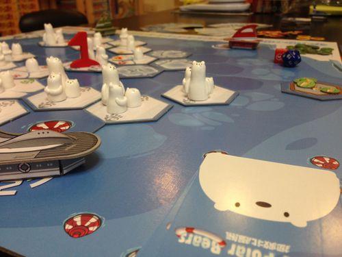 Board Game: Rescue Polar Bears: Data & Temperature