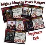 Board Game: 'Mighty Morphin' Supplement (fan expansion for Last Night on Earth)