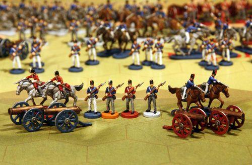 Board Game: Napoleon's War:  The 100 Days