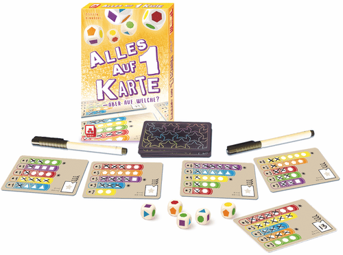 Board Game: Alles auf 1 Karte
