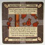 Board Game: Munchkin Quest: Promo Coaster 1