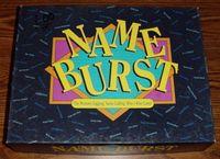 Board Game: Name Burst