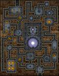RPG Item: VTT Map Set 173: Arrival of the Rift Walker
