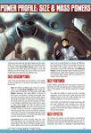 RPG Item: Power Profile #24: Size & Mass Powers