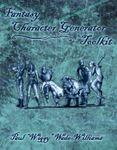 RPG Item: Fantasy Character Generator Toolkit