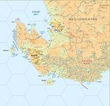 RPG Item: Atlas Hârnica Map D9