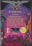 RPG Item: El Raja Key Archive
