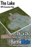 RPG Item: The Lake RPG Encounter Map
