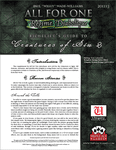 RPG Item: Richelieu's Guide to Creatures of Sin 2