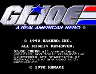 Video Game: G.I. Joe