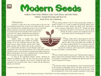 RPG Item: Seeds: Modern
