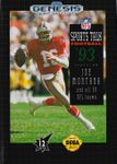 Video Game: Sports Talk Football '93 Starring Joe Montana