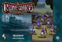 Board Game: Runewars Miniatures Game: Spearmen – Unit Expansion