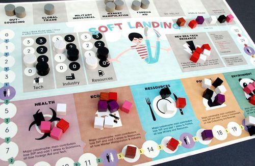 Board Game: soft landing v1.0
