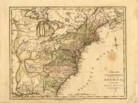 RPG Item: Antique Maps 21: The United States of the 1700's