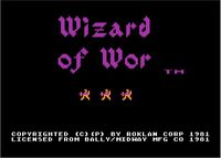 Video Game: Wizard of Wor