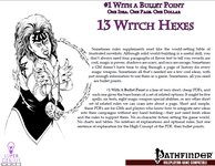 RPG Item: Bullet Points: 13 Witch Hexes