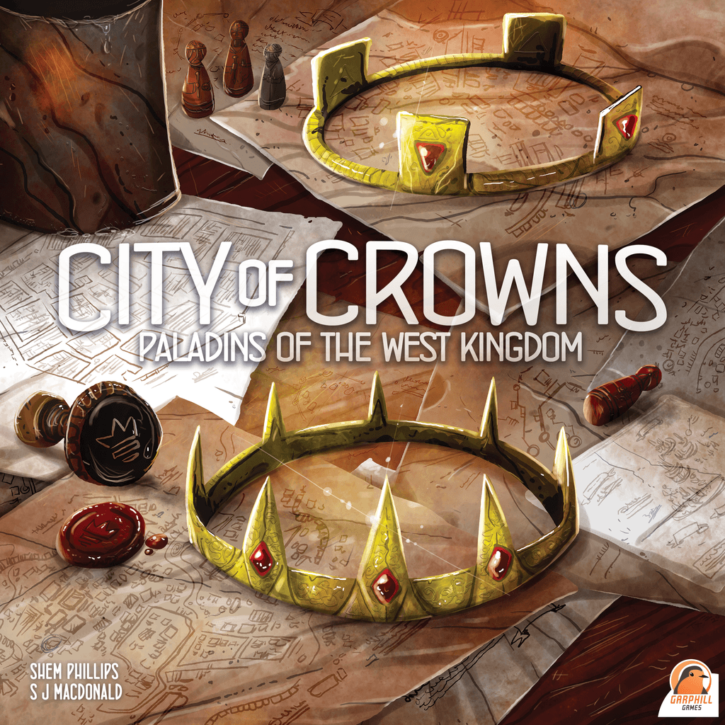 Board Game: Paladins of the West Kingdom: City of Crowns