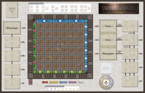 Board Game: Urban Sprawl