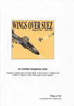 Board Game: Wings Over Suez