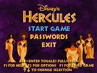 Video Game: Disney's Hercules