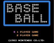 Video Game: Baseball