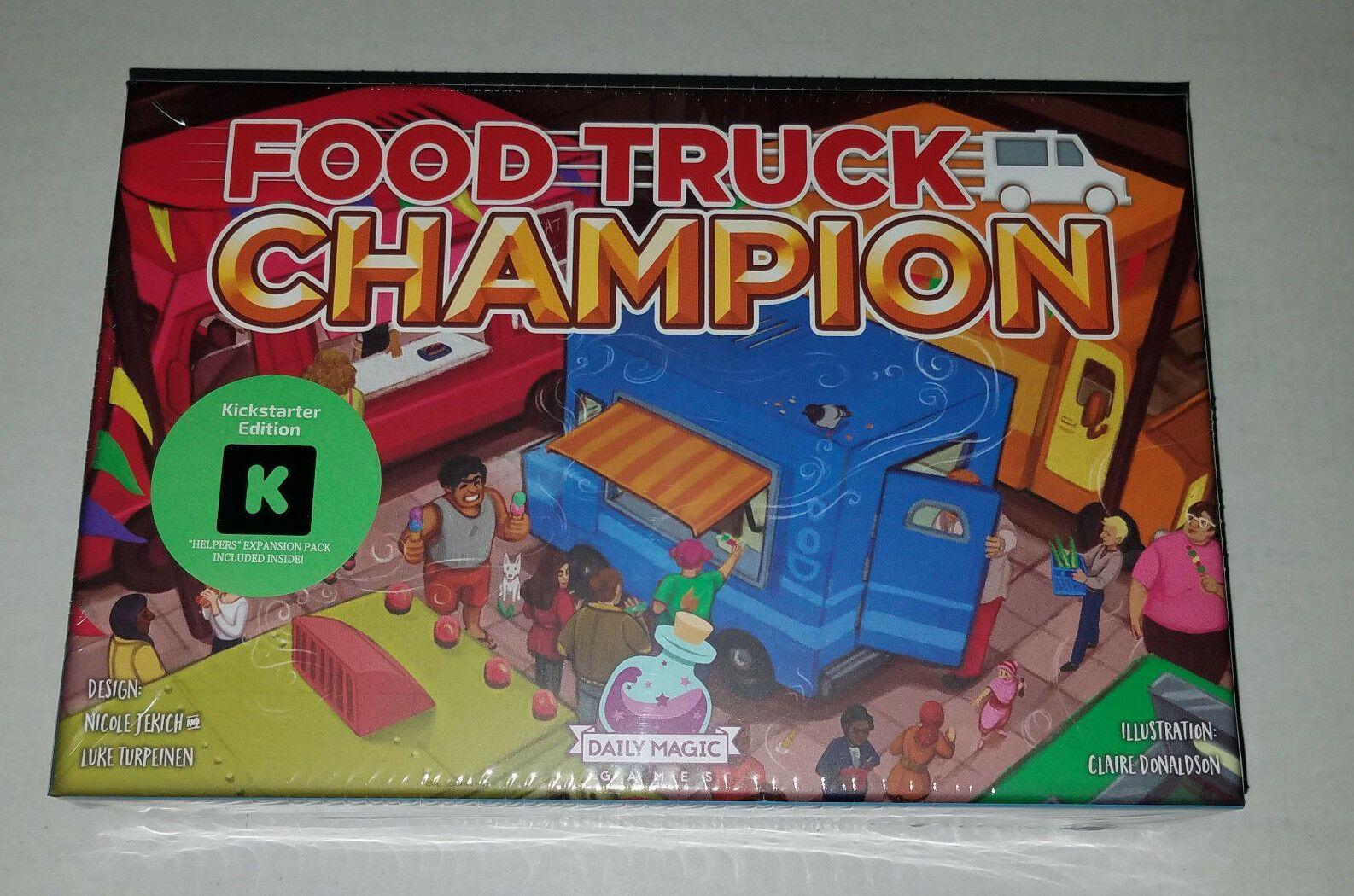 Food Truck Champion: Kickstarter Edition