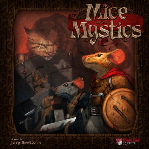 71 PIECES DELUXE 3D BOARD GAME UPGRADE KIT FOR MICE AND MYSTICS