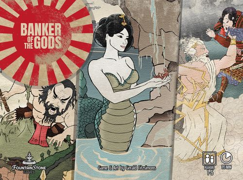 Board Game: Banker of the Gods