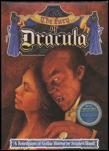 The Fury of Dracula Cover Artwork