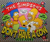 Board Game: The Simpsons: Don't Have A Cow Dice Game