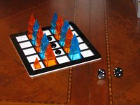 Board Game: Martian Backgammon
