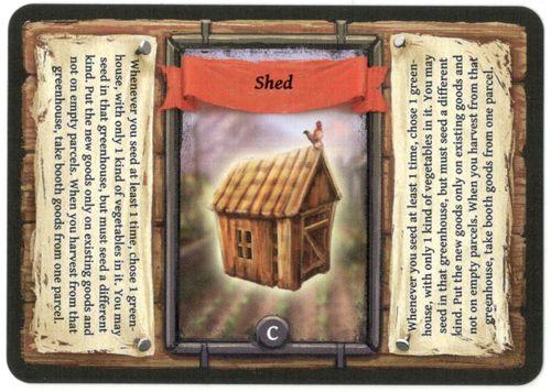 Board Game: Reykholt: Shed Promo Card