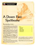 RPG Item: A Dozen Free Spellbooks