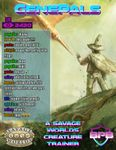 RPG Item: GenePals: A Savage Worlds Creature Trainer