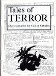 RPG Item: Tales of Terror